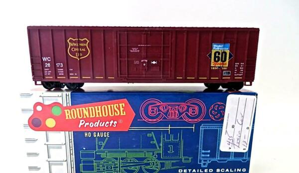Roundhouse Built Ltd Run HO 50#x27; Wisconsin Central Model Railroader Boxcar 162 6 $9.50