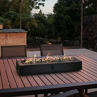 28 Outdoor Tabletop Fireplace Black Project 62quot;