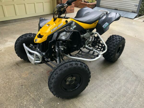 2014 Can Am DS450MX very good condition. original owner. includes paddle tires $7900.00