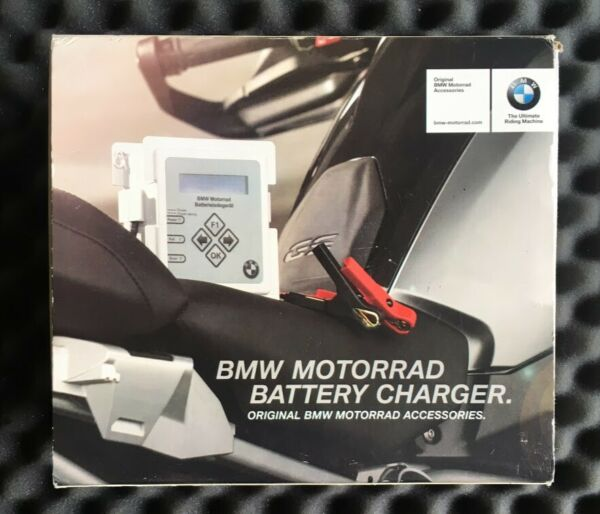 Genuine BMW Motorrad Motorcycle Battery Charger Maintainer Conditioner Can Bus GBP 70.00