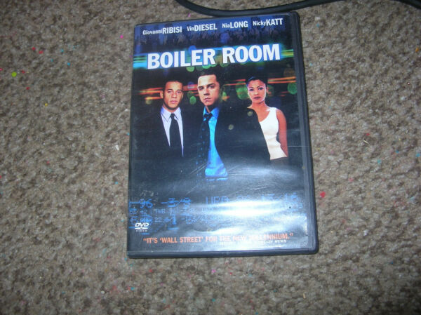 boiler room dvd stock market $5.00