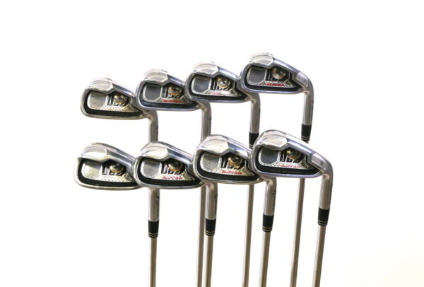 TaylorMade Tour Burner 3 9 PW Iron Set RH TaylorMade Steel Shafts Regular Flex