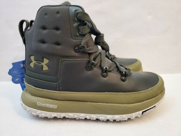 New Under Armour UA Fat Tire Govie 1299193 300 Hiking Boots Green Men#x27;s size 9 $149.99