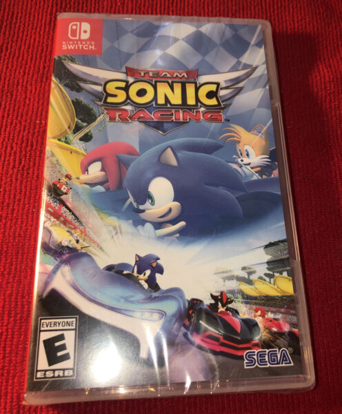 Team Sonic Racing for Nintendo Switch New Video Game