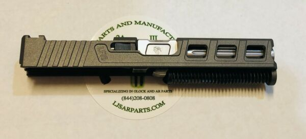 Glock 19 complete slide w Fluted barrel and RMR cut out custom USA made slide $445.99