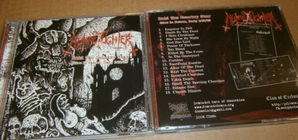 NUNSLAUGHTER Raid The Country Star. CD $14.00