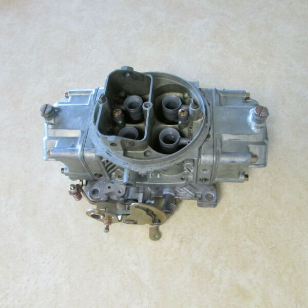 Holley 9381 Competition Double Pumper Carburetor 830 CFM Annular Booster Race $280.00