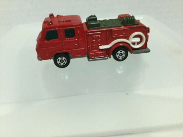 Tomy Tomica Pocket Car 1970s No. 94 Ud Condor Chemical Fire Engine