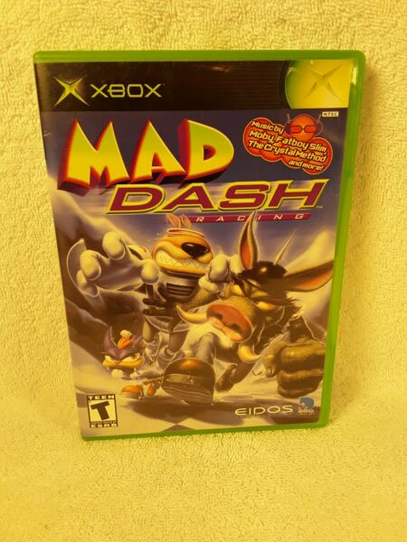 MAD DASH RACING for Original Xbox Complete Tested Great condition