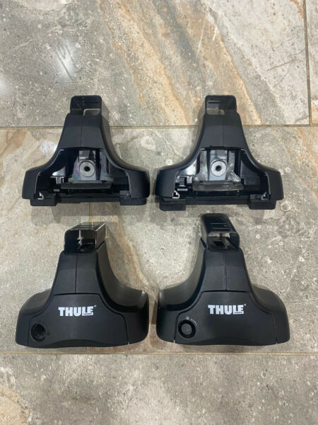 Thule Roof Rack Foot Pack 754 480 Rapid System Fit w Fitment $109.49