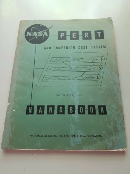 NASA Pert And Companion Cost System Handbook 1962 Risk And Project Management $120.00