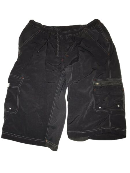 SPECIALIZED MOUNTAIN BIKING SHORTS LARGE LG L MENS BLACK USED SHELL ONLY NR $39.99