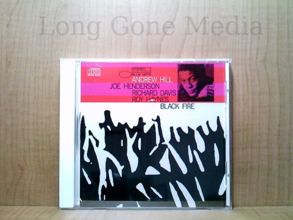Black Fire by Andrew Hill CD 1995 Blue Note