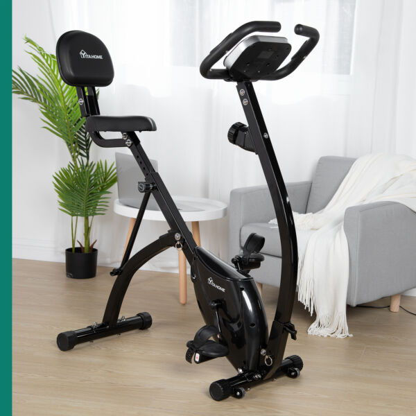YITAHOME LCD Stationary Exercise Bicycle Indoor Bike Cardio Cycling Home Fitness $155.99