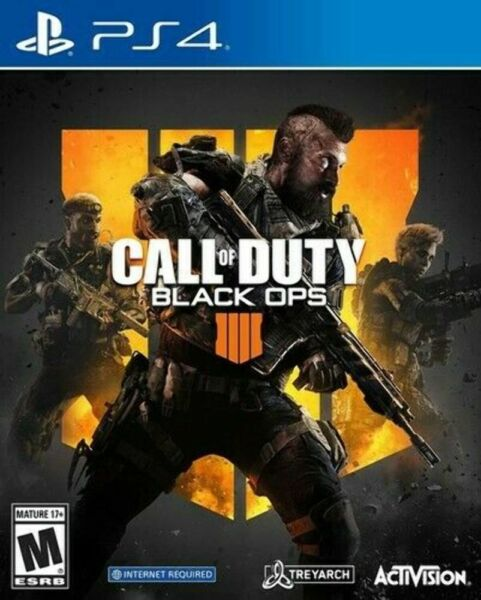 Call of Duty: Black Ops COD BO IIII IV DISC ONLY Sony PlayStation 4 2018 PS4 $9.95