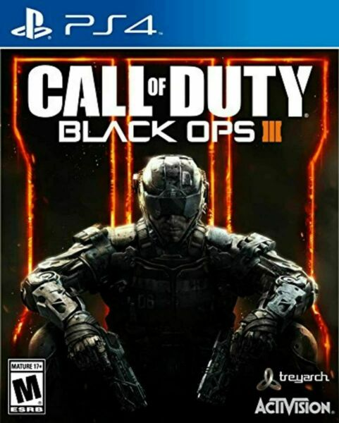Call of Duty: Black Ops III 3 DISC ONLY Sony PlayStation 4 2015 PS4 $9.99