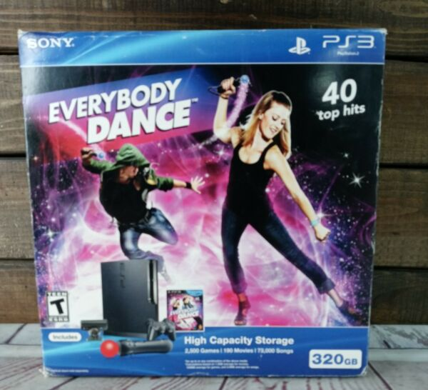 NEW Sony PlayStation 3 Slim Move Bundle 320gb Console PS3 System Everybody Dance $639.20