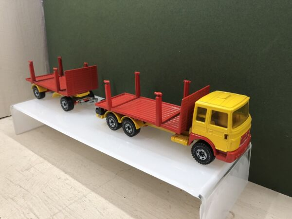 Siku MAN Log Carrier 1:50 Scale The Crane Support Legs Are Missing Unboxed GBP 25.00