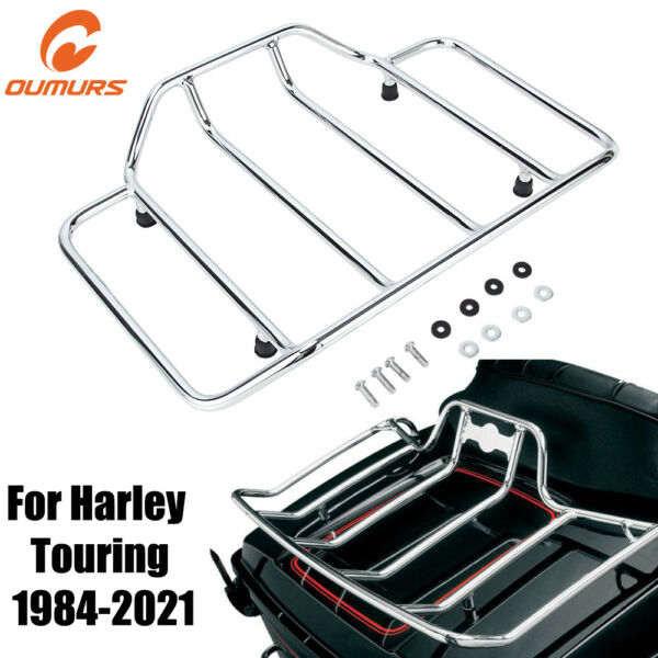 Top Rack Tour Pak Pack Luggage Trunk For Harley Road King Electra Tour Glide $50.83