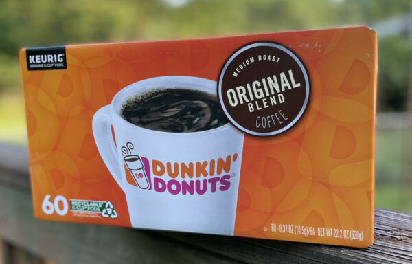 Overstock Dunkin#x27; Donuts 60 Count Box Original Blend Coffee K Cups Pods