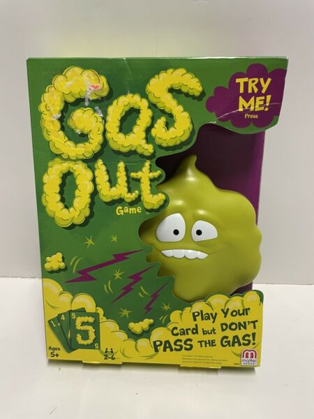 Mattel Games Gas Out Game New Sealed $19.95