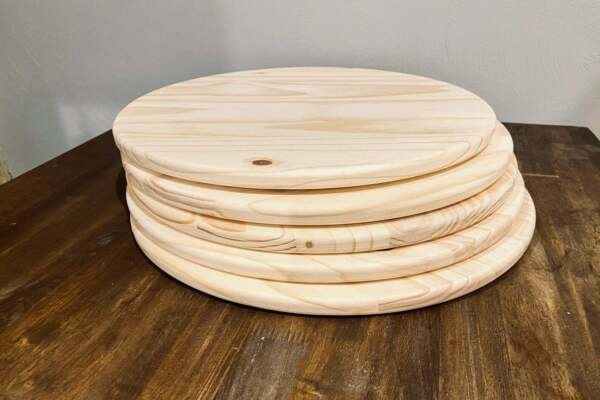 Wood Rounds Circles Pine Stain Grade Unfinished Thick 3 4 INCH Premium Wood $32.00