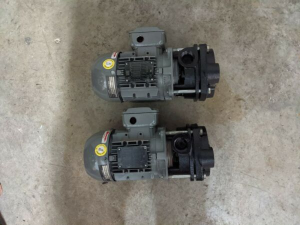 Two MTH E41E BF Boiler Feed Water Pumps 3 Phase 208 230 460 .85 HP $800.00