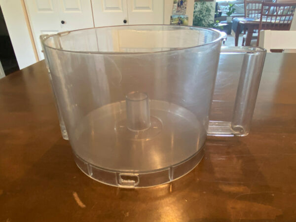 Cuisinart Deluxe 11 Food Processor Work Bowl DLC 865AGTX Replacement Part Used