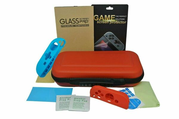 For Nintendo Switch Carrying Case Carbon Hard Portable Pouch Heavy Duty Bag $11.99