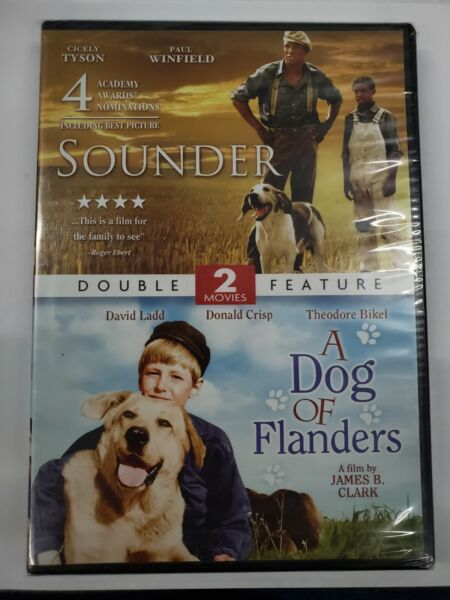 Sounder A Dog of Flanders DVD NEW $12.50