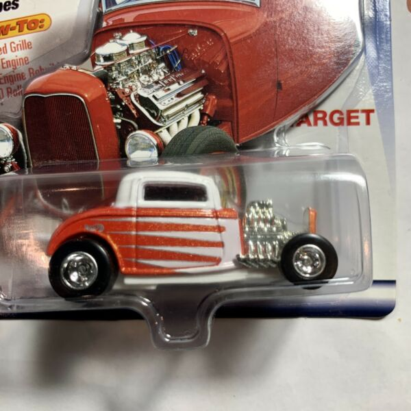 Hot Wheels Editor#x27;s Choice #x27;32 Ford Coupe Target Exclusive Car Real Riders RR