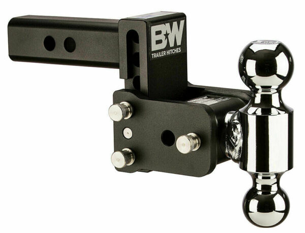 Bamp;W TS10033B Tow and Stow Magnum Receiver Hitch Ball Mount