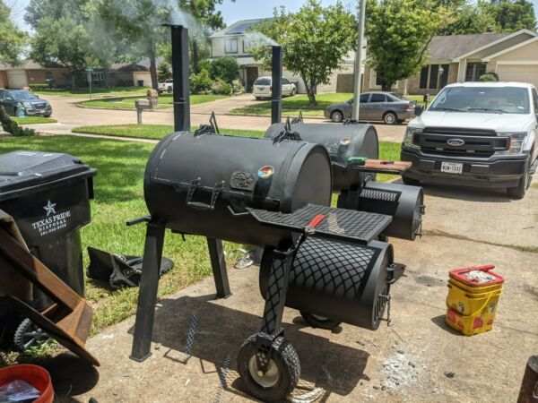 Bbq Smoker grill hand made cooking