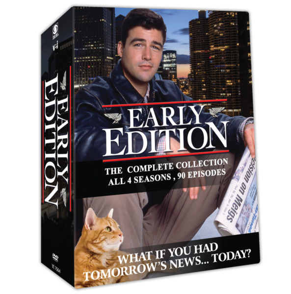 Early Edition The Complete Collection All 4 seasons 90 episodes $49.99