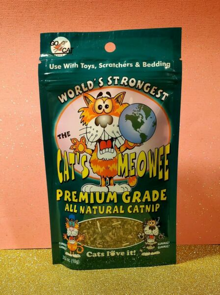CAT#x27;S MEOWEE Catnip * WORLDS STRONGEST * Premium All Natural 😻 Cats Love It