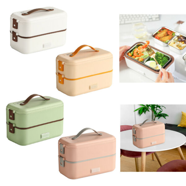 BPA Free Heated Lunch Box As Microwave Oven Tools Gifts for Home Travel 110V $64.27
