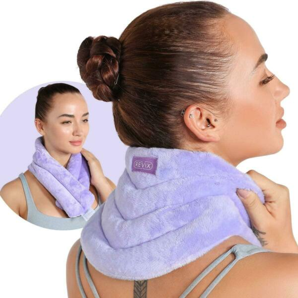 REVIX Neck Heating Pad Microwavable Heated Neck Wrap With Moist Heat For Stress $76.47