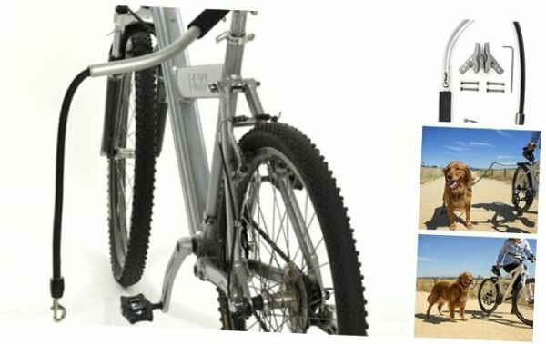Cycleash Dog Bike Leash Extra Strong Lightweight Secure Universal with $74.78