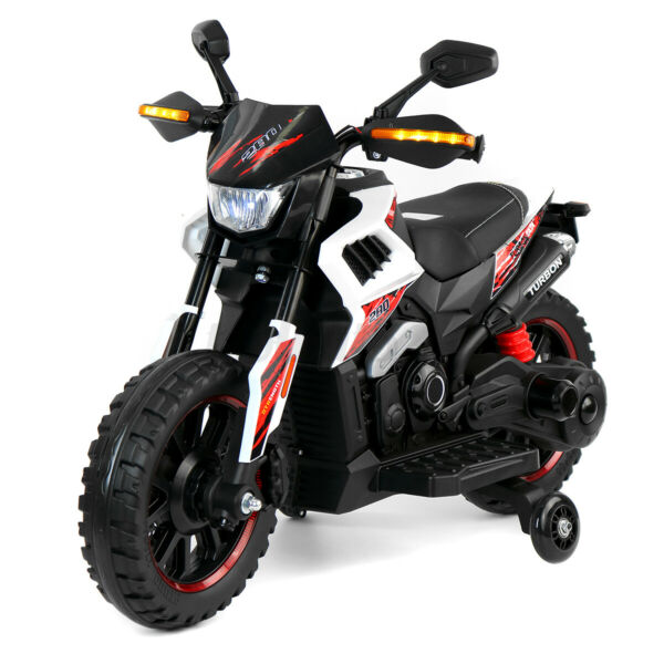 12V Electric Motorcycle Kids Ride On Dirt Bike Car Toy Power Wheels Car Gift $106.43