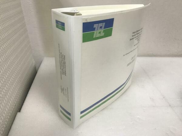 TEL TOKYO ELECTRON LIMITED VERTICAL FURNACE SYSTEM OVERVIEW MANUAL $39.99