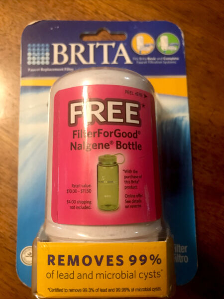 Brita Faucet Replacement Water Filter Fits Brita Basic Complete Faucets NEW