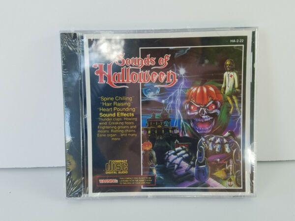 Sounds Of Halloween CD Brand New amp; Sealed 1994 Madacy HA 2 22 Spine Chilling $9.99