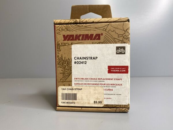 Pair 2 Yakima Chainstraps Bicycle Hitch Rack New In Open Box Part #02412 $12.00
