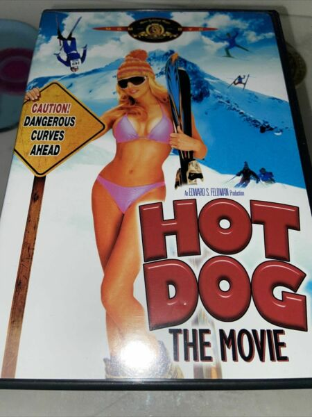Hot Dog...The Movie DVD 1984 RARE OOP Classic Ski Comedy Best Price $11.10