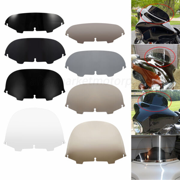 """5quot; 7quot; 8quot; 13""""Round Windshield Windscreen Fit for Harley Electra Street Glide96 13"""
