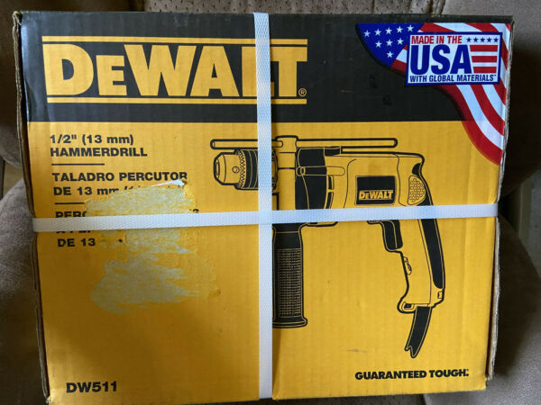 NEW Dewalt DW511 1 2quot; Hammer Drill brand new corded Tool 13mm Electric 120v $65.00