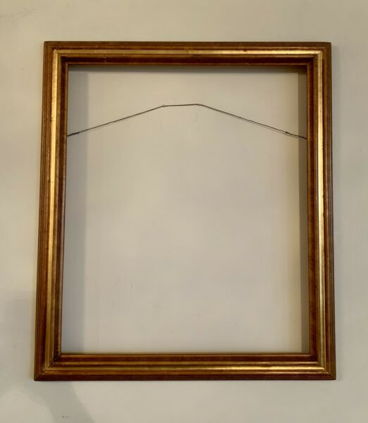 Vintage Large Wood Frame for Fine Art Painting 30.5x26.5 and 26x22 Inches