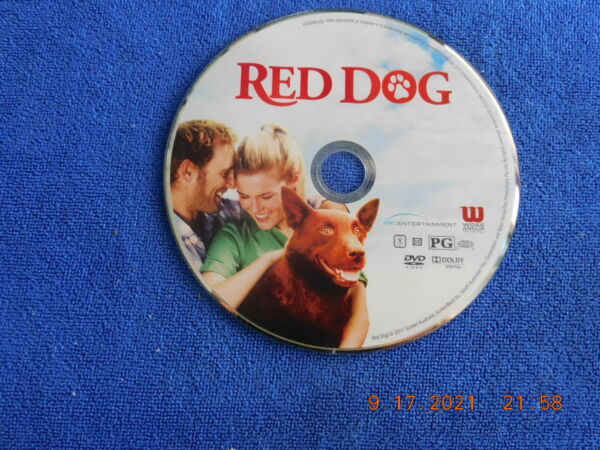 Red Dog dvd Disc Only No USPS Tracking $2.80