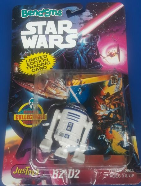 NIP STAR WARS BENDEMS R2 D2 W UNCOMMON LIMITED EDITION TRADING CARD 1993 $25.00