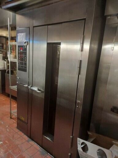Hobart Electric HBA1E Single Rack Grocery Bakery Roll In Convection Oven $5000.00